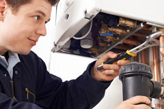 only use certified Redpath heating engineers for repair work